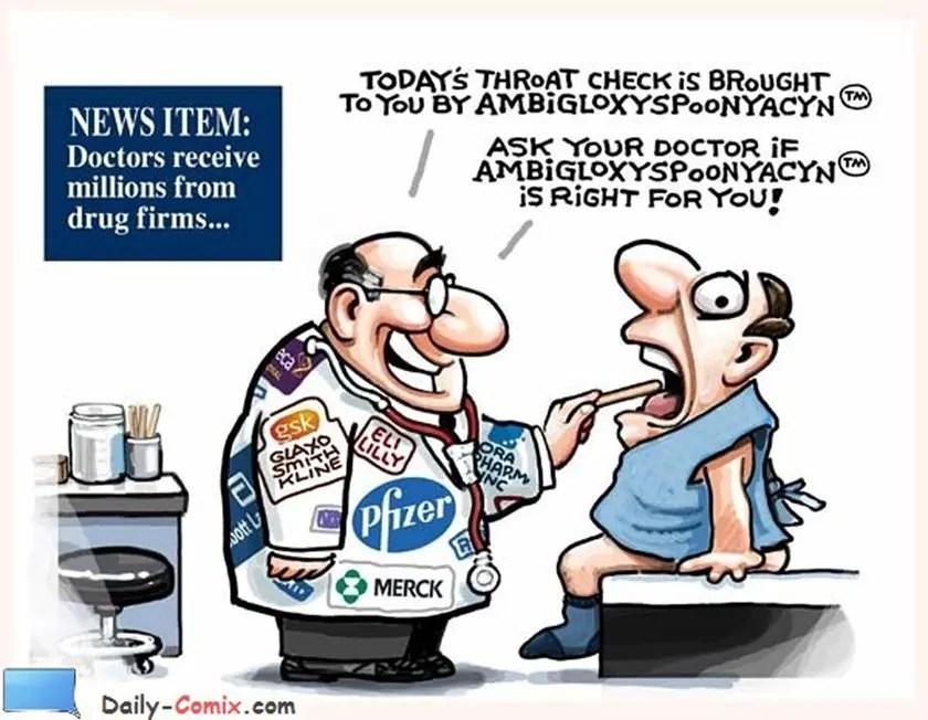 Doctors and Pharma Ties…