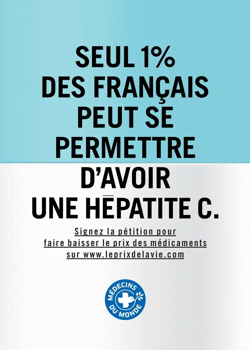 Un prix exorbitant pour soigner l'Hépatite C