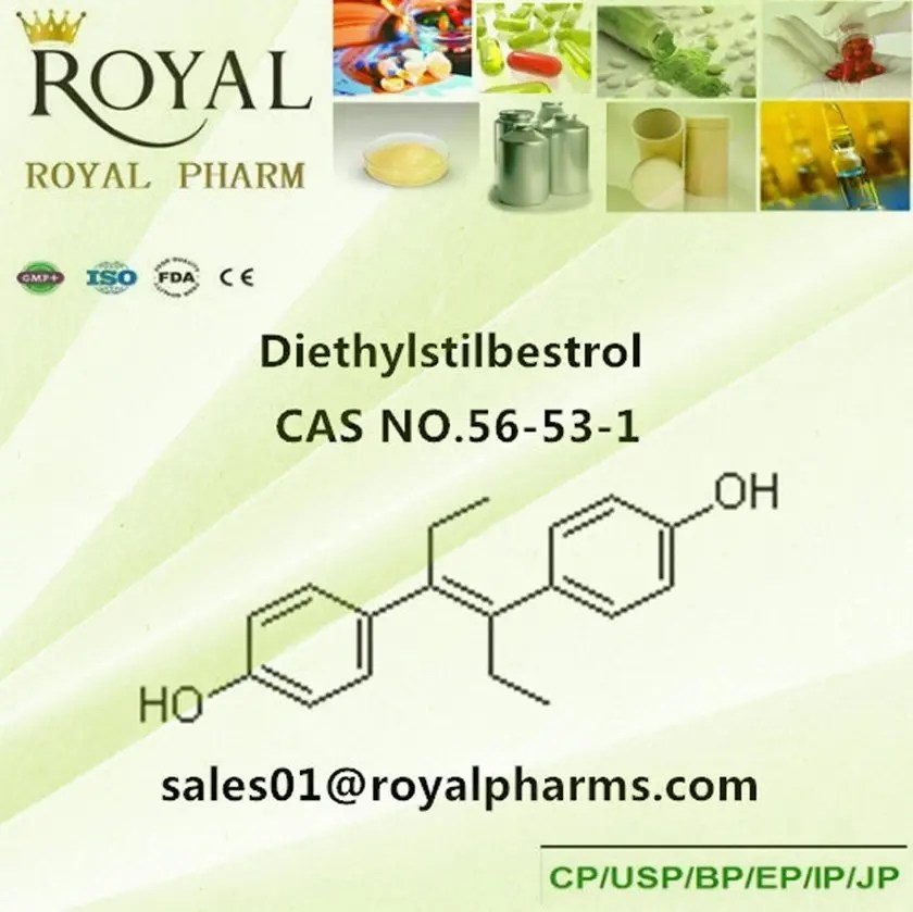 Diethylstilbestrol crystalline powder