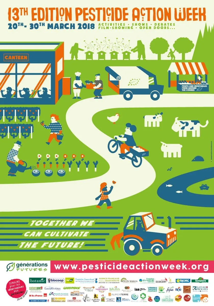Pesticide Action Week 2018 Poster