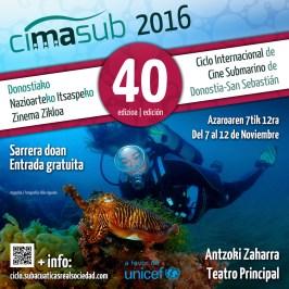 desdedentro en el CIMASUB · Ciclo Internacional de Cine Submarino de Donostia – San Sebastián