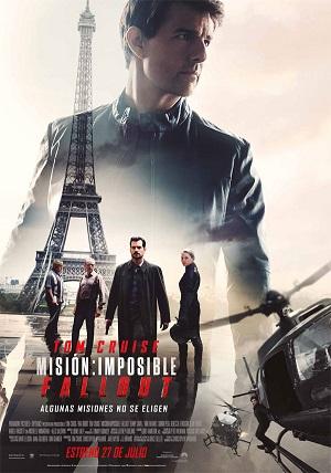 Misión imposible: Fallout - cartel de cine