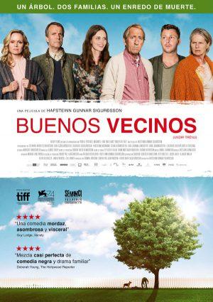 Buenos vecinos - cartel de cine