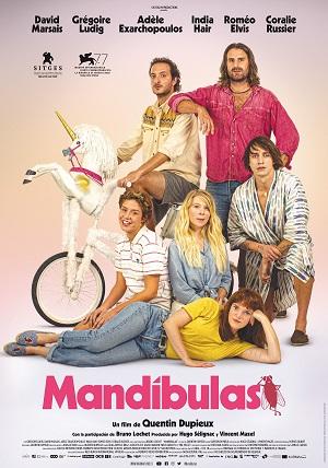 Mandíbulas - cartel de cine