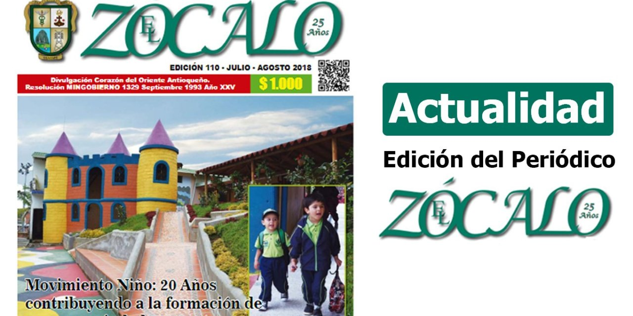 Periódico el Zócalo ed. 110