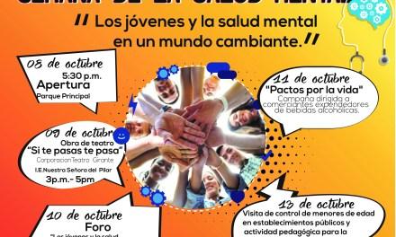 """Semana de la Salud Mental: """"Los jóvenes y la salud mental en un mundo cambiante"""""""