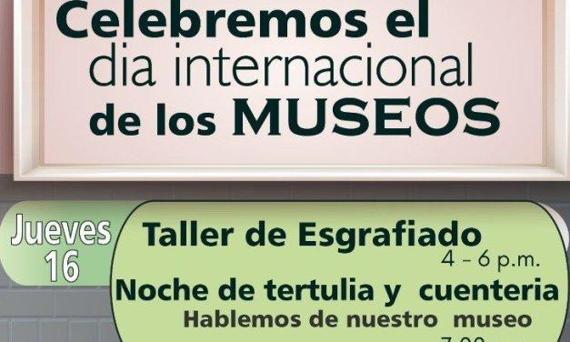 Actividades para celebrar el día internacional de los museos