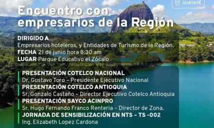 """""""Encuentro con empresarios de la Región"""""""