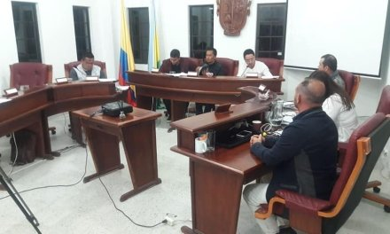 Inicia periodo de sesiones correspondientes al mes de agosto en el Concejo Municipal.