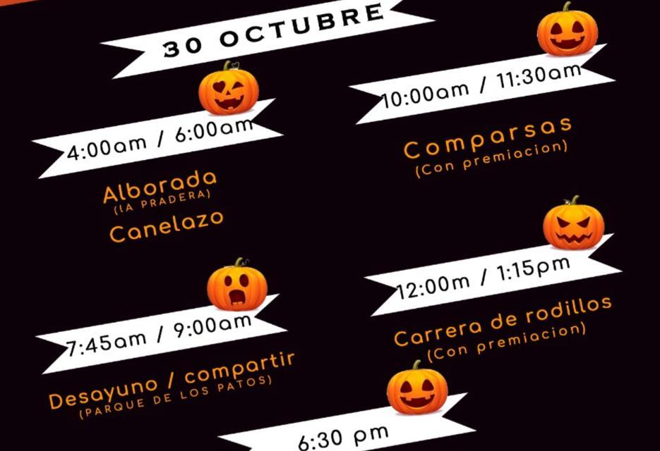 Los días 30 y 31 de octubre se desarrrollan las fiestas del colegio