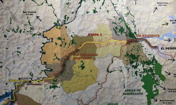Cero y van tres: presentan nueva propuesta de conexión vial entre Marinilla, El Peñol y Guatapé