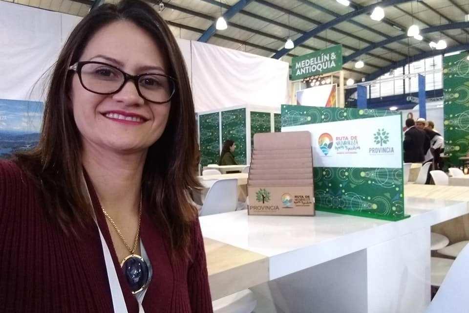 Yomaira Rosales quintero, por el turismo de Antioquia