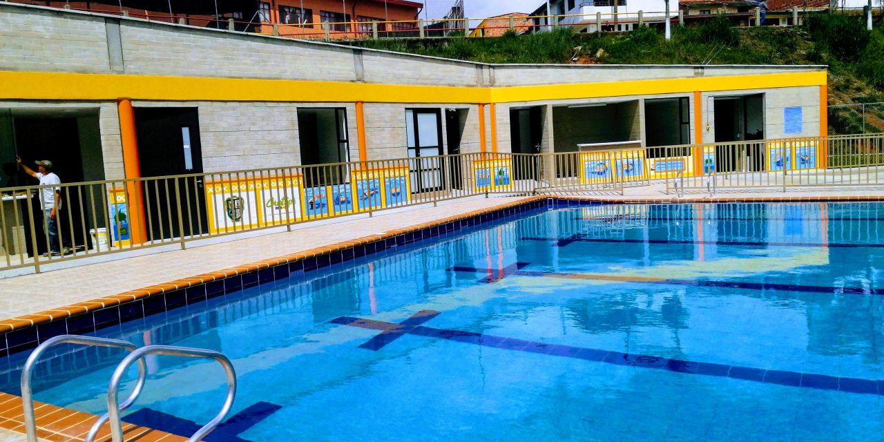 En pocos dias la comunidad podrá disfrutar de la piscina municipal