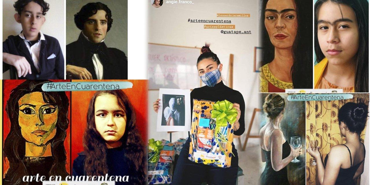 Estos fueron los ganadores del concurso arte en cuarentena
