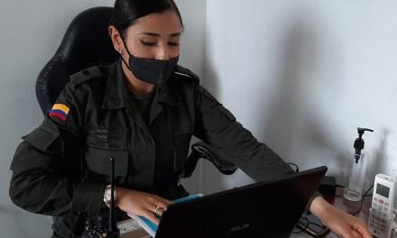 La policía trabaja en la prevención de Covid-19
