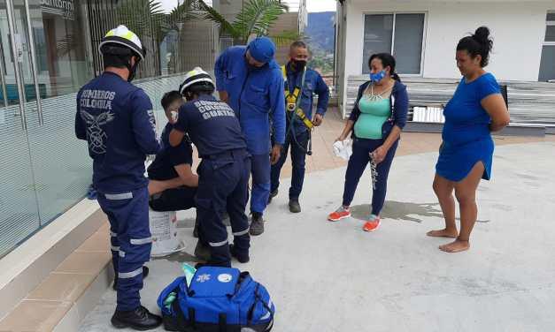 Los bomberos trabajando por una comunidad