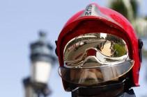 Casco de bombero