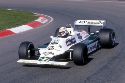 Alan Jones, Williams FW07B Cosworth (GP Canada 1980)
