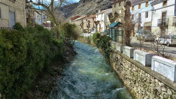 Río Segura a su paso por Pontones