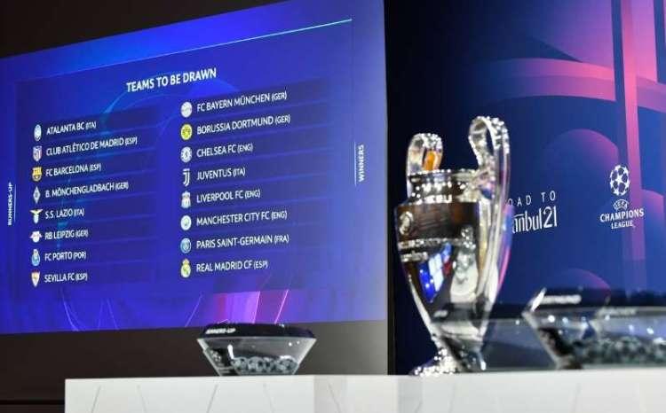 Quedaron definidos los Octavos de Final de la UEFA ...