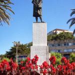 Santander: estatua de Colón
