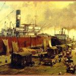 El ambiente portuario de mediados del siglo XIX