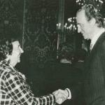La santanderina Mª Angeles de la Fuente,primera mujer española registradora de la Propiedad