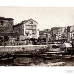 Santander 1886:Muelle de Anaos