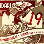 1952:primer calendario de la popular revista santanderina «El Santo», de los PP Capuchinos
