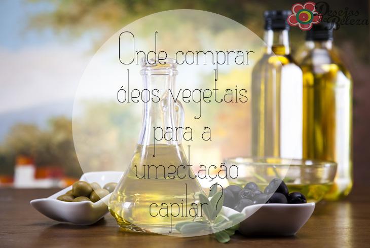 Onde comprar óleos vegetais para a umectação capilar?