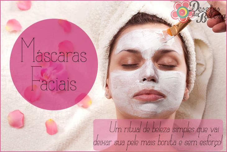 máscaras faciais - desejos de beleza - capa