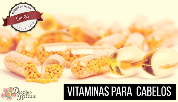 Vitaminas para cabelos