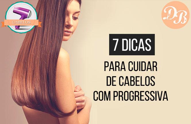 7 dicas para cuidar de cabelos com progressiva
