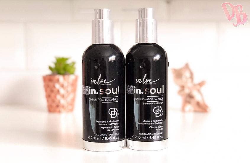 Testei: Shampoo e condicionador Inloe In.Soul