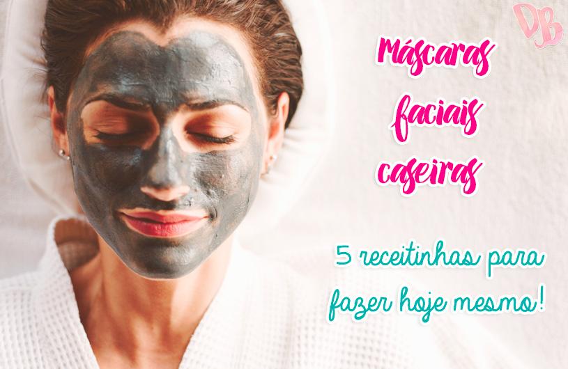 Máscaras faciais caseiras: 5 receitinhas para fazer hoje mesmo!
