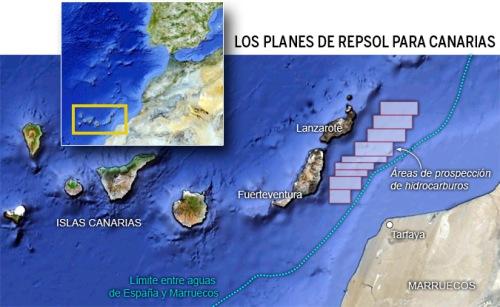 Ölbohrungen Canarias