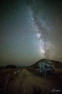 """Salida Fotográfica Nocturna """"Mónsul, El Barronal – Hora Azul y Vía Láctea"""""""