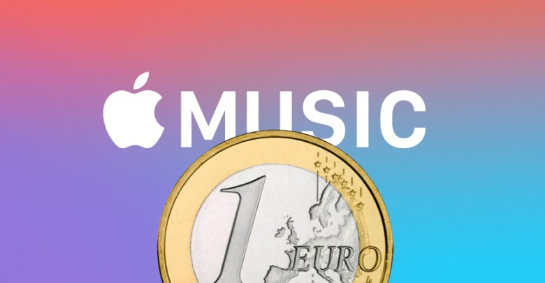 Apple Music por 1€