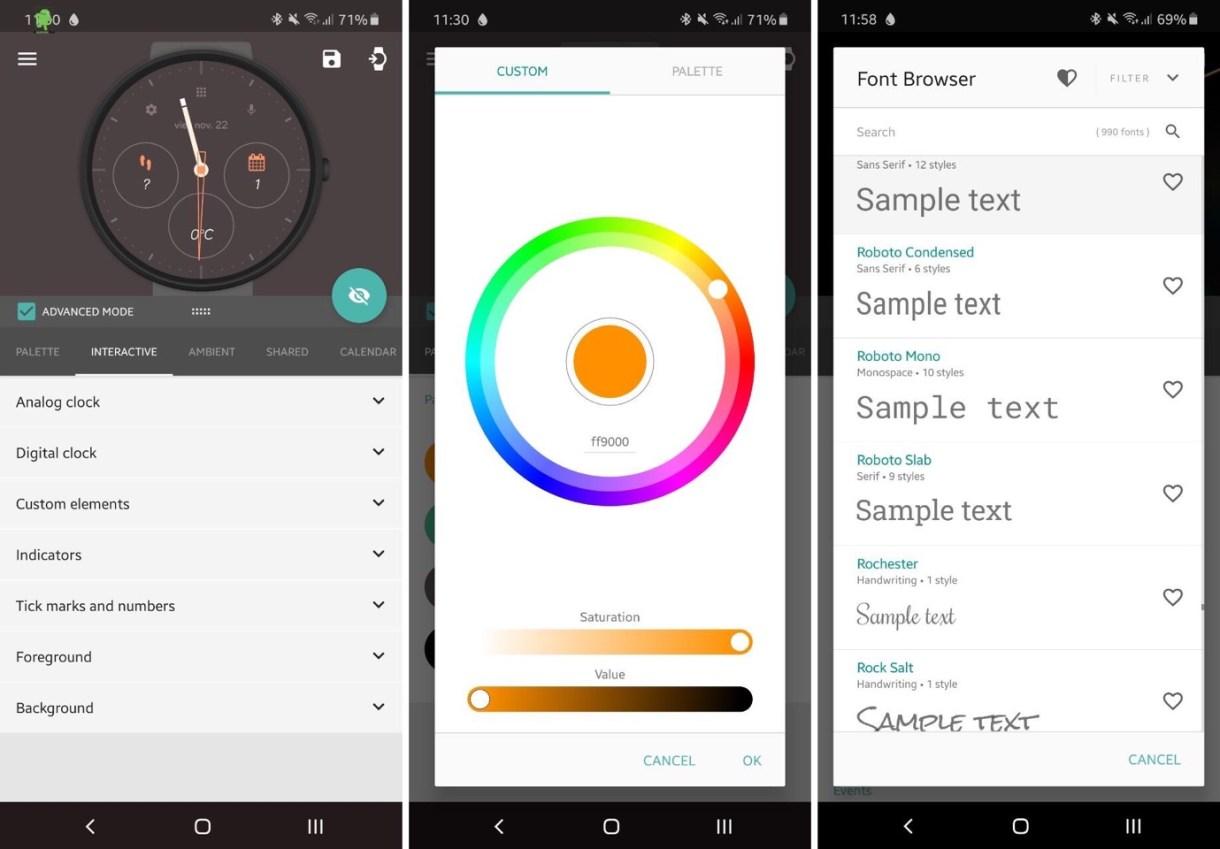 La app Pujie Black te permite diseñar la esfera de tu smartwatch con la mejor nitidez y funcionalidad