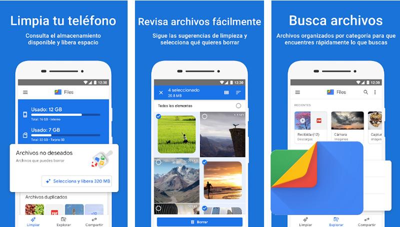 La aplicacion Files: una alternativa practica y gratuita para liberar memoria en tu smartphone
