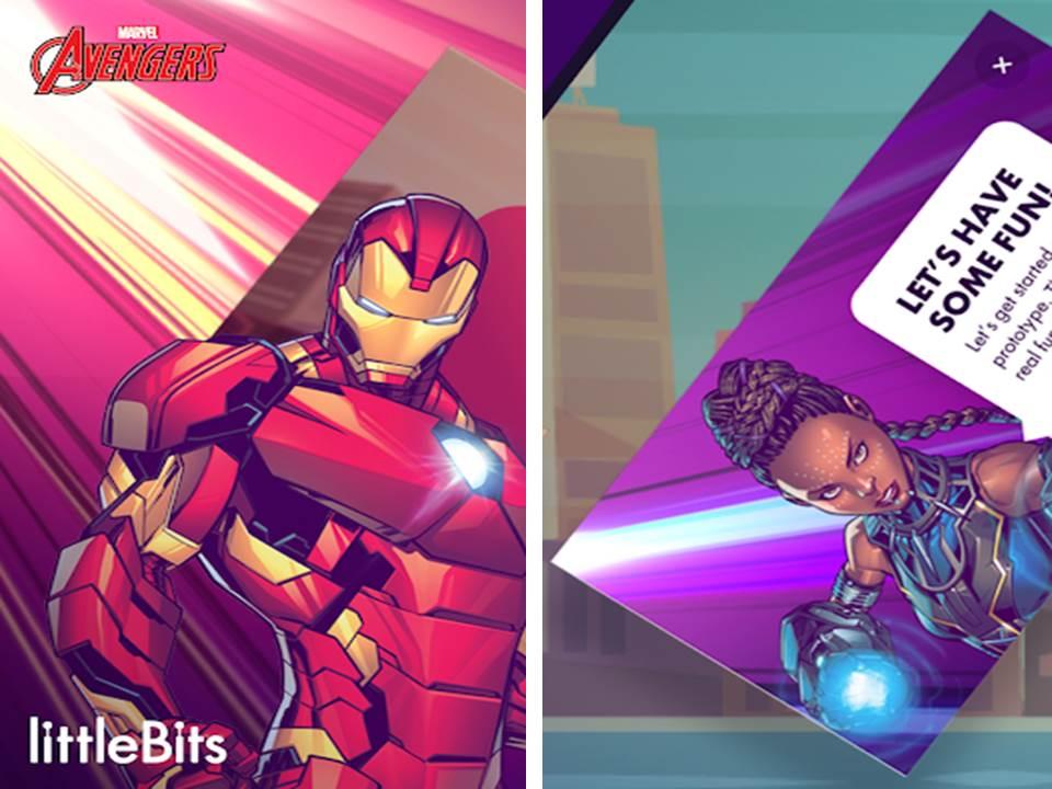 aplicaciones de Marvel
