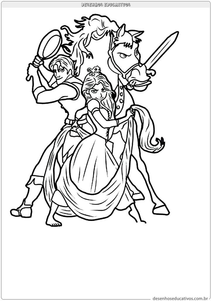 Desenhos Para Colorir Da Rapunzel Desenhos Para Imprimir