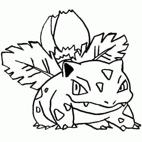bulbasaur – desenhos para colorir