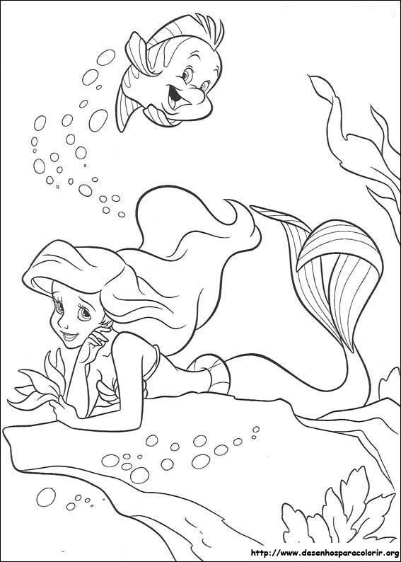 Your barbies don't need to sit in your attic collecting dust. A Pequena Sereia: 15 Desenhos! – Desenhos para Colorir
