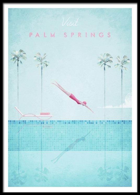 visit palm springs poster