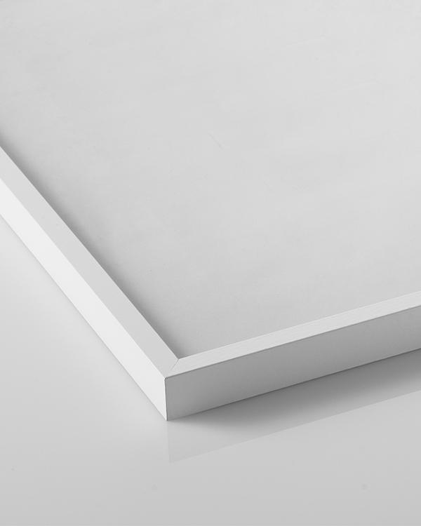 cadre blanc 70 x 100 cm