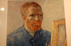Zelf portret van Gogh