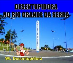 Desentupidora em Rio Grande da Serra