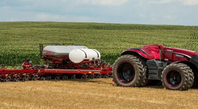 Trator autônomo manobrado pelo celular é o futuro da agricultura