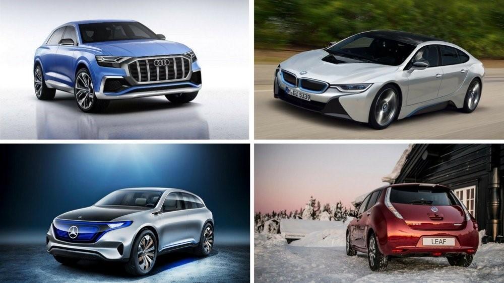 Carros elétricos para os próximos anos 2018 e 2019